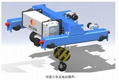 電動葫蘆雙梁起重機小車