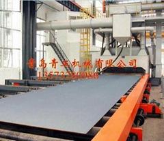 青岛青工钢板型材抛丸清理机