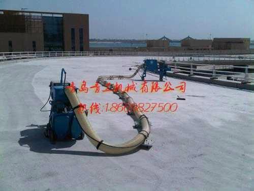 青工沥青移动式路面抛丸清理机 1