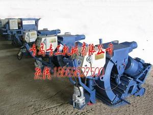 青岛青工混凝土便携移动式抛丸机 2