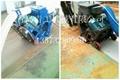 青工垂直移动式路面抛丸清理机 2