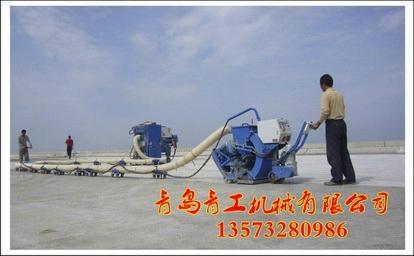 青工垂直移动式路面抛丸清理机 3