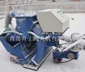 青工垂直移动式路面抛丸清理机 4