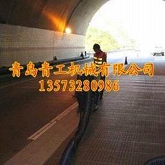 青工公路桥面清理抛丸机