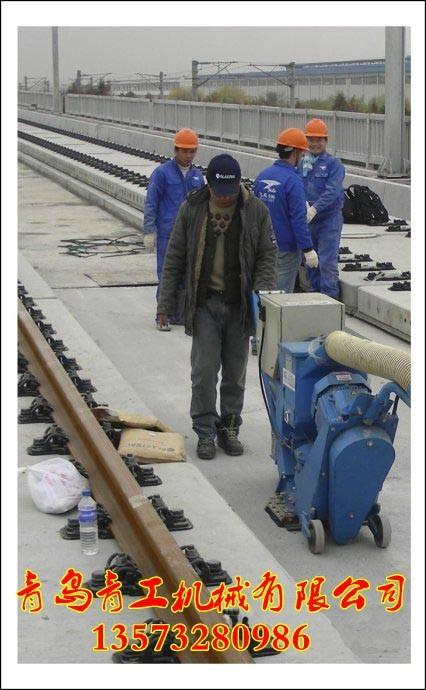 青工公路桥面清理抛丸机 3