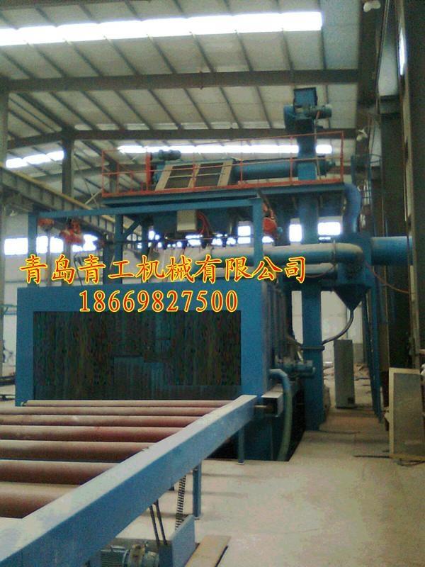 供应青工QGSC系列石材抛丸机  4