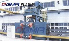 青工供应型钢抛丸喷砂机除锈设备
