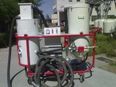 壓入式循環回收噴砂機