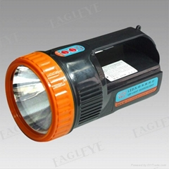 Rechargeable Portable LED 3W Searchlight with Lead or Lithium Battery