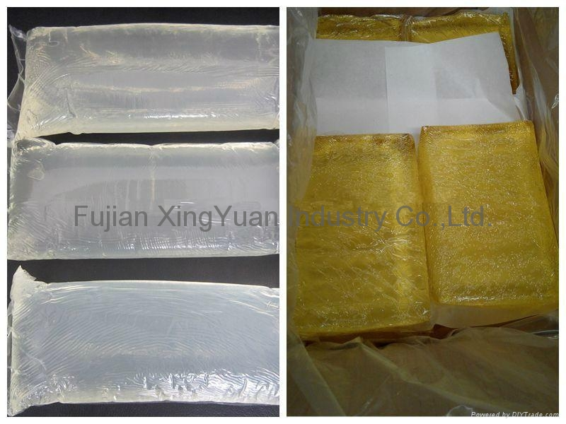 Hot melt glue adhesive for diapers and sanitary pads 3