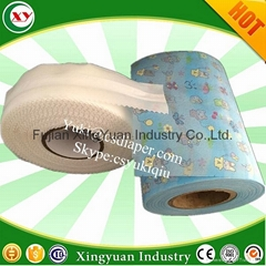 disposable adult diaper magic side tape for diaper