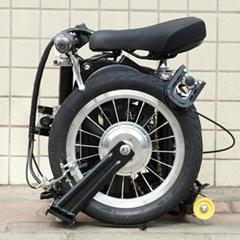 折疊電動自行車