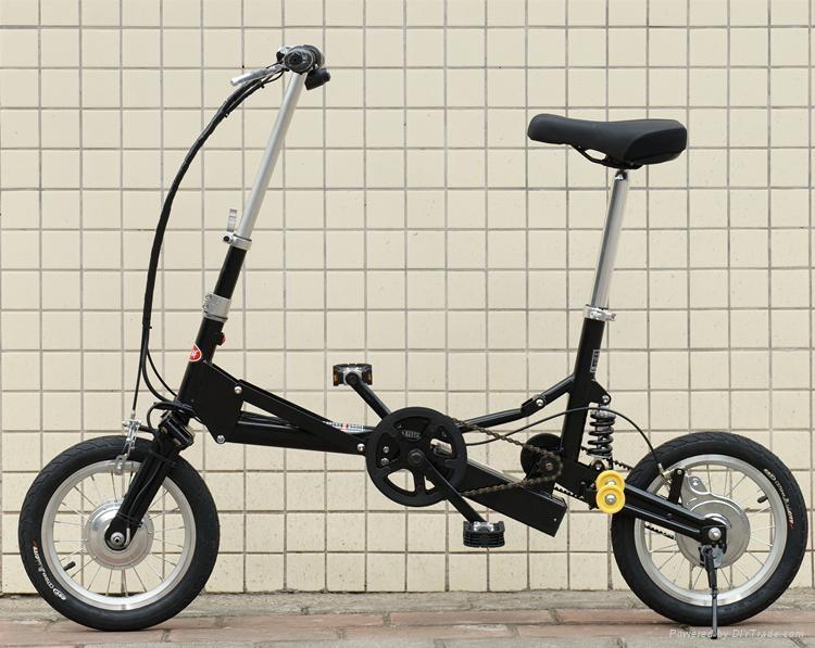 折叠电动自行车 3