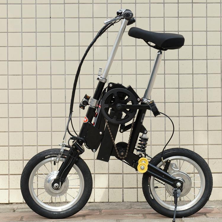 折叠电动自行车 4