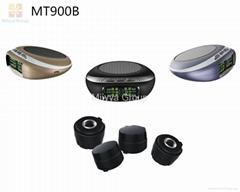 TPMS Wireless Solar Car Tire Pressure Monitoring System+4 External TPMS Sensors