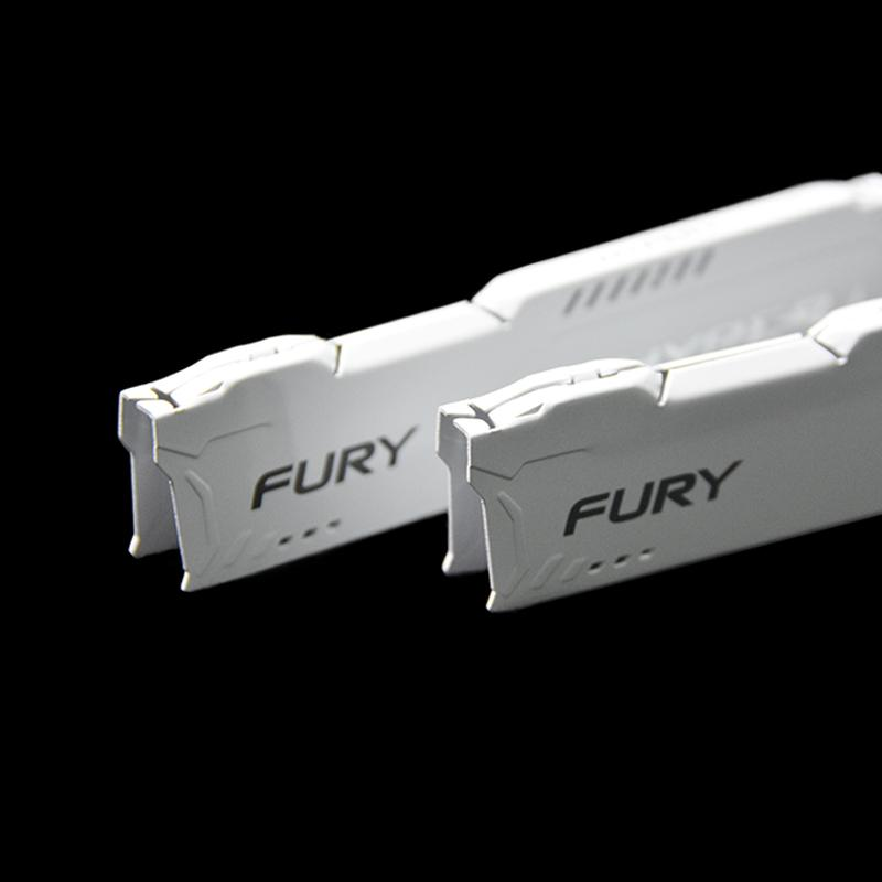 White ram cooling heatsink radiator for desktop ram DDR DDR2 DDR3 DDR4 1