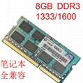 8GB DDR3L 1600 SODIMM PC3-12800 CL11