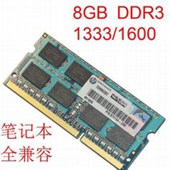 8GB DDR3L 1600 SODIMM PC3-12800 CL11 204Pin Laptop Ram memory