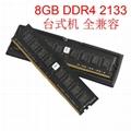 8GB DDR4 DIMM 2133Mhz 2400Mhz 288Pin