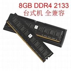 8GB DDR4 DIMM 2133Mhz 2400Mhz 288Pin CL15  CL17 2 desktop PC Memory RAM