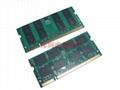 DDR2 2GB SODIMM 667Mhz 800Mhz 200Pin CL5 CL6 laptop Memory Ram 3
