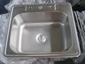 Guangdong Dongyuan Kitchenware Topmount Single Bowl Stainless Steel Kitchen Sink 3
