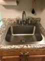 Guangdong Dongyuan Kitchenware Topmount Single Bowl Stainless Steel Kitchen Sink 4