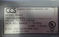 供應美國 CCS 壓力開關-全新原裝進口
