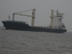 8000吨626TEU多用途船