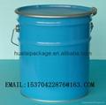 5 gallon metal bucket