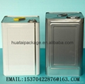 18L square metal cans