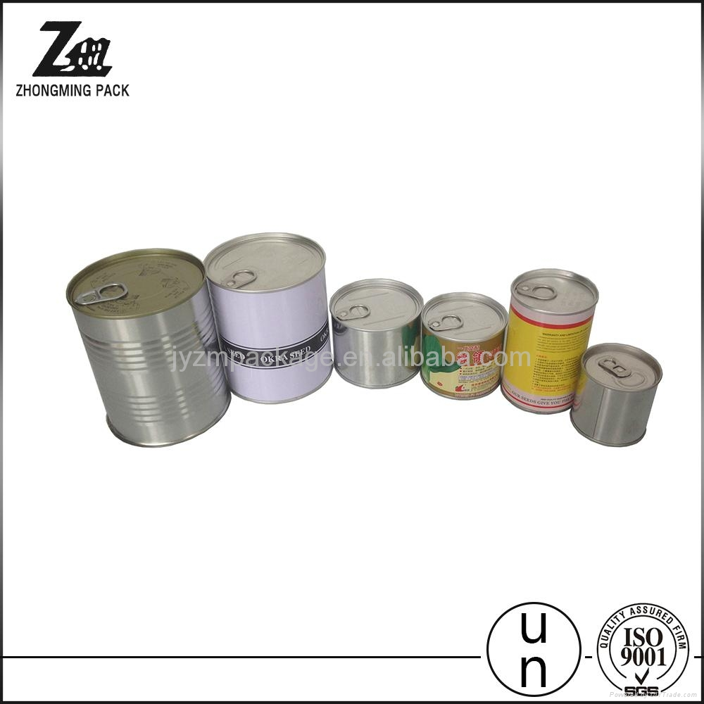 easy open lid tin can for food or oil or fish food grade tinplate 1