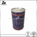 easy open lid tin can for food or oil or fish food grade tinplate 4