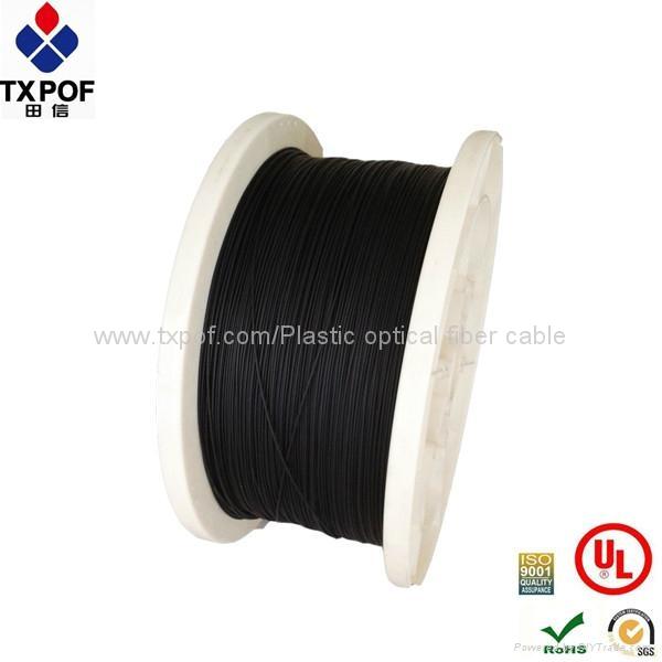 Plastic optical fiber cable.POF cable,PMMA cable 1