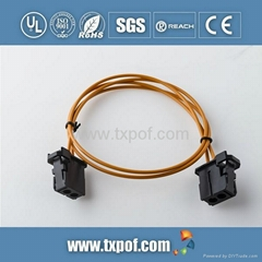 Automotive fiber plastic optic fiber for Car Most System
