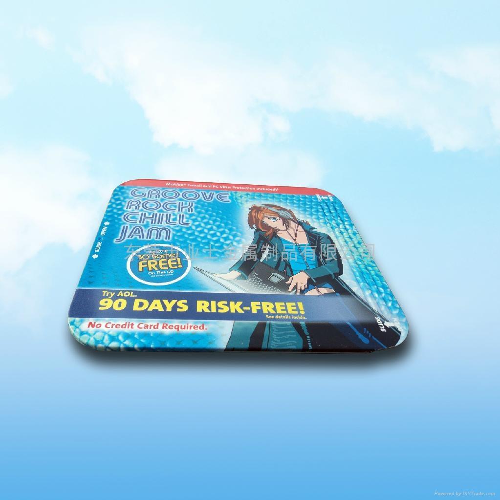 马口铁CD盒 2