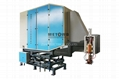 Straight seam solid state HF induction welding machine, tube welder