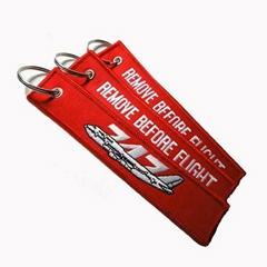embroidery keychain, novelty keychain, keyring, key holder