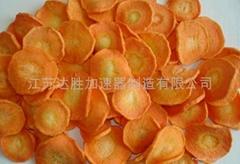輻照脫水胡蘿蔔食品