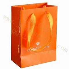 銅板紙手提服裝袋
