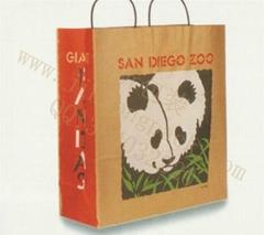 东莞生产手提牛皮纸袋
