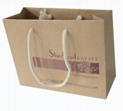 东莞生产200克牛皮纸手提袋