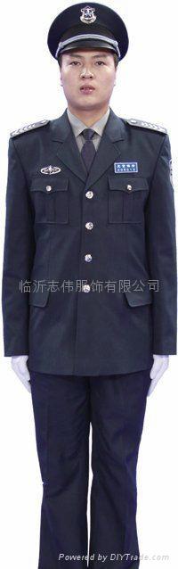 临沂保安制服保安标志服定做 2