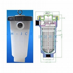 pp bag filter housing for Chemical and  industrial liquid filtration