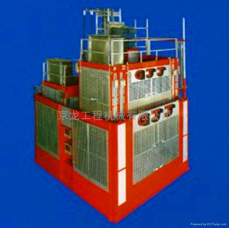秦皇岛京龙升降机SC200/200石家庄京龙施工升降机廊坊施工电梯 1