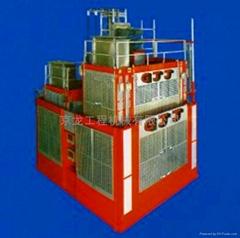 秦皇岛京龙升降机SC200/200石家庄京龙施工升降机廊坊施工电梯