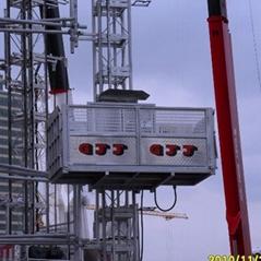 天津京龙GJJ西安京龙变频施工升降机京龙施工电梯