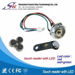 tm卡連接器帶LED信號燈探頭