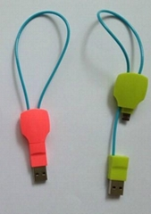Key Shape USB To Micro Charging Data Sync Cable