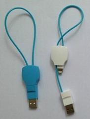 Key Shape USB TO Lightning Charging Data Sync Cable
